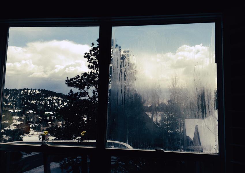 condensation in windowpanes