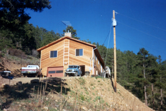 Image of home in Conifer, Colorado before we replaced their windows